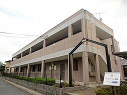 滋賀県栗東市中沢1丁目の賃貸マンションの外観