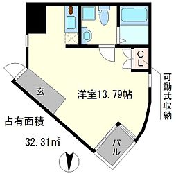 S-COURT[2階]の間取り