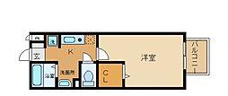 セジュール井原の里B棟[1階]の間取り