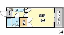 兵庫県姫路市西今宿3丁目の賃貸アパートの間取り