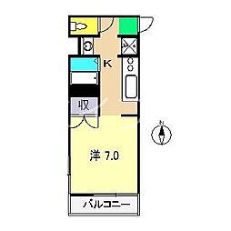 KIRORO一ツ橋[3階]の間取り