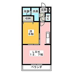 DELIGHT[2階]の間取り