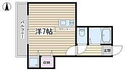 横尾ビル[203号室]の間取り