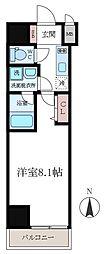 FRERE COURT錦糸公園[603号室]の間取り