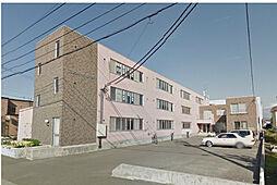 北海道石狩郡当別町錦町の賃貸マンションの外観
