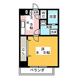 NORITAKE21[8階]の間取り