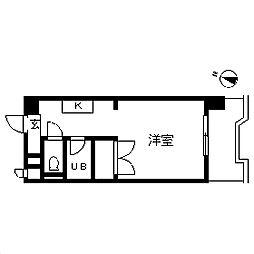 TOP・矢部第1[7階]の間取り
