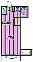 TENDER HOUSE[302号室]の間取り
