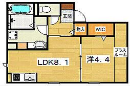 Mitte Iwafune[2階]の間取り