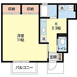 スマートFII[1階]の間取り