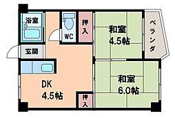 マンション和田ビル[2階]の間取り
