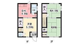 [一戸建] 兵庫県西宮市里中町3丁目 の賃貸【/】の間取り