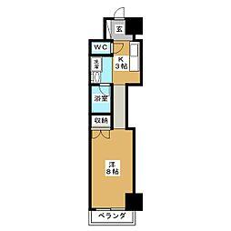 KIND EN III 南館[7階]の間取り
