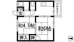 芝マンション[3階]の間取り