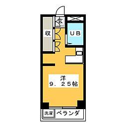 エーダイロイヤルプラザ[3階]の間取り