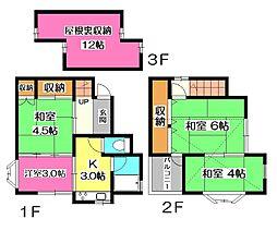 [一戸建] 埼玉県所沢市和ケ原2丁目 の賃貸【/】の間取り