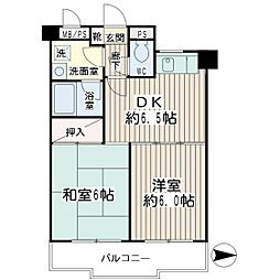 グレースピア・ヤワタ[3階]の間取り