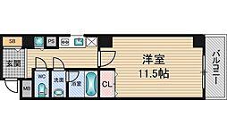 フィールドイン新大阪[9階]の間取り