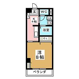 第3ジーオンビル[2階]の間取り