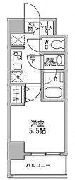 パークフラッツ横濱平沼橋[5階]の間取り
