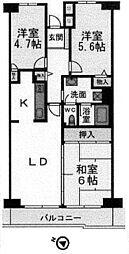 海老名サンハイツ 8階