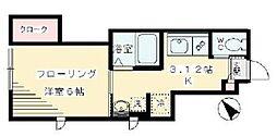 エストレーラ赤堤[1階]の間取り