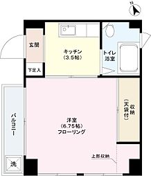 長谷川ビル[2階]の間取り