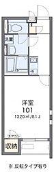 名鉄名古屋本線 名鉄一宮駅 バス9分 馬引下車 徒歩2分の賃貸アパート 2階1Kの間取り