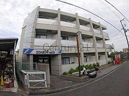 兵庫県川西市花屋敷山手町の賃貸マンションの外観