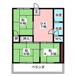 本郷マンション[3階]の間取り