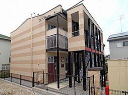 千葉県市川市曽谷7丁目の賃貸アパートの外観