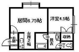 神楽岡駅 1.8万円
