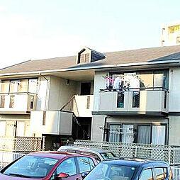 福岡県北九州市八幡西区鷹の巣1丁目の賃貸アパートの外観