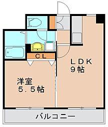 ゼロマクト[2階]の間取り