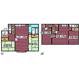 [一戸建] 北海道札幌市北区あいの里三条5丁目 の賃貸【/】の間取り