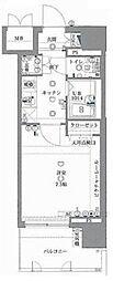 東京都江東区扇橋3丁目の賃貸マンションの間取り