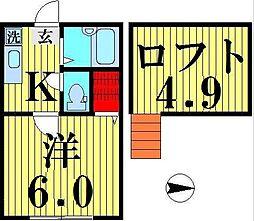 アーバンハイツ[1階]の間取り