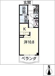 ココルーナ[3階]の間取り