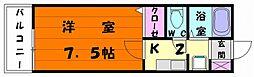 タウンハウス松香台[2階]の間取り
