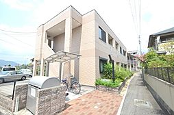 兵庫県宝塚市中筋2丁目の賃貸アパートの外観