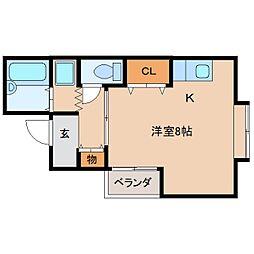 静岡県静岡市葵区新通2丁目の賃貸マンションの間取り
