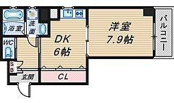 サンクチュアリ緑丘[2階]の間取り
