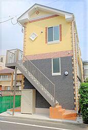 神奈川県川崎市川崎区鋼管通2丁目の賃貸アパートの外観