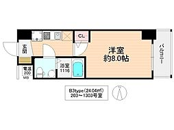 No77HANATEN001[10階]の間取り