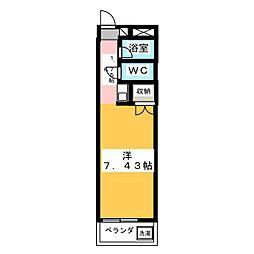 エトワール本庄第1[4階]の間取り