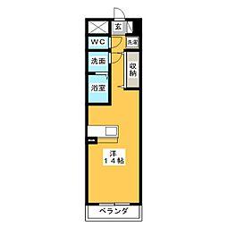 poggio al sole quattro[3階]の間取り