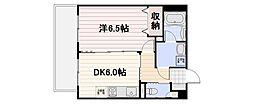 ミルキーウェイII[2階]の間取り