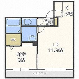 Vivace N1[4階]の間取り
