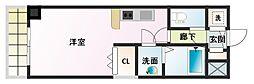 ノルデンタワー新大阪[11階]の間取り