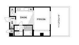 日神パレステージ志村坂下[4階]の間取り